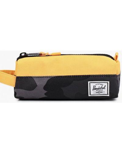 Текстильный желтый кошелек Herschel Supply Co