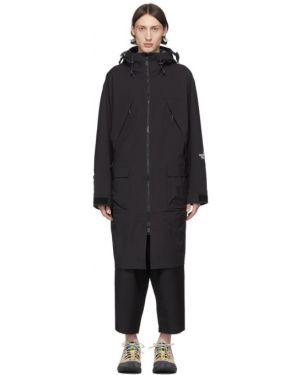 Długi płaszcz z kapturem kurtka grochowa The North Face Black Series