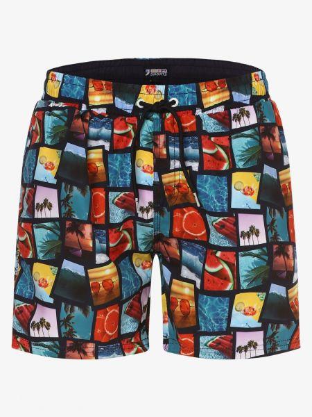 Niebieskie krótkie szorty na basen Happy Shorts