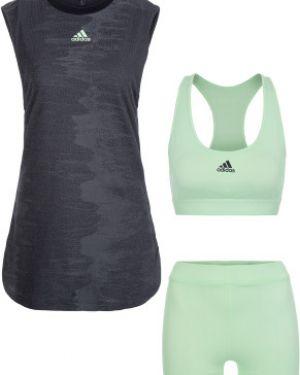 Платье серое теннисное Adidas