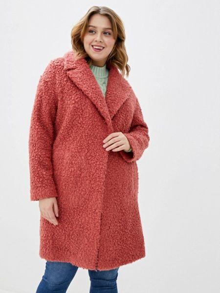 Розовое пальто с капюшоном Marks & Spencer