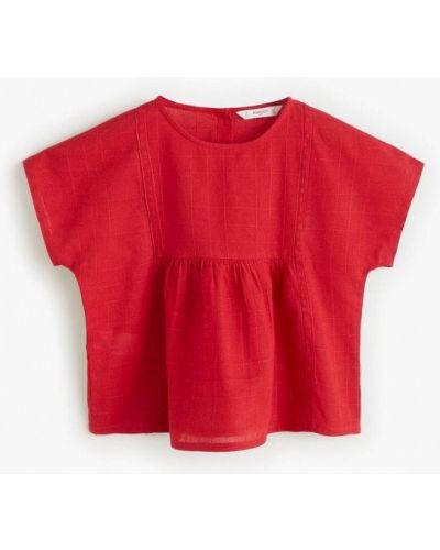 Блуза индийский красная Mango Kids