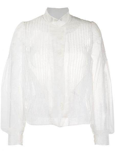 Блузка прозрачная - белая Simone Rocha