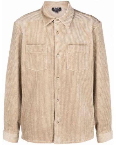 Beżowa koszula A.p.c.