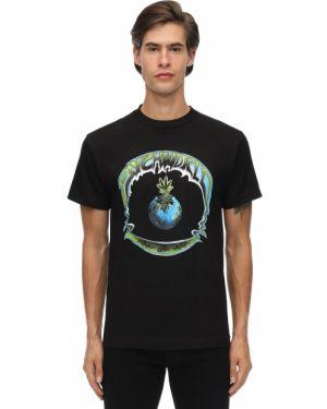 Czarny t-shirt bawełniany Psychworld