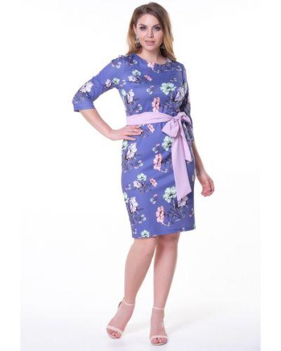 Платье с поясом с цветочным принтом платье-сарафан Valentina