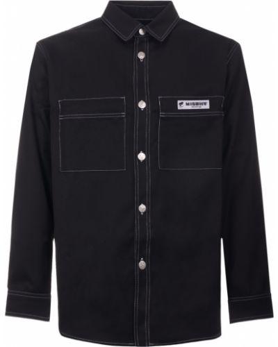 Czarna koszula do pracy Misbhv