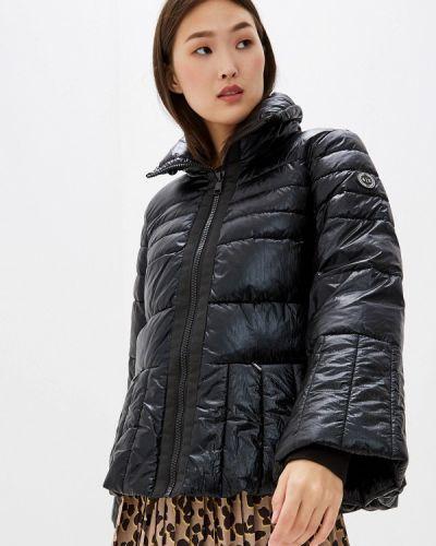 Утепленная куртка демисезонная черная Armani Exchange