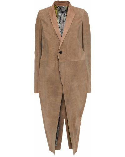 Płaszcz skórzany Rick Owens