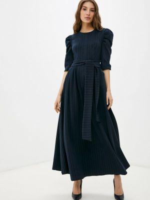 Повседневное платье - синее мадам т