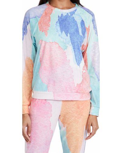 Мягкий хлопковый пуловер с рукавом реглан Pj Salvage