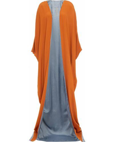 Pomarańczowa kurtka bawełniana Rick Owens