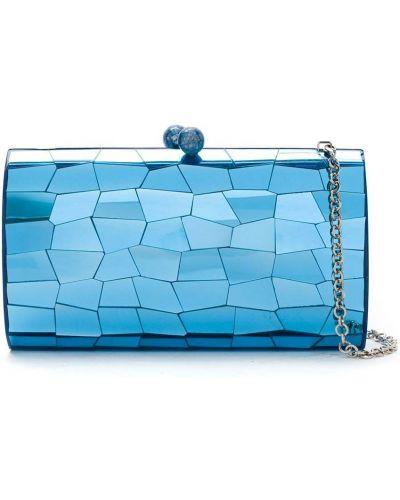 Акриловая синяя сумка Serpui