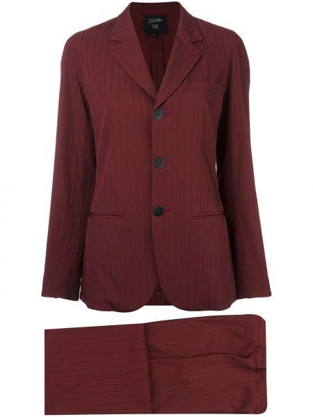 Garnitur - czerwony Jean Paul Gaultier Pre-owned