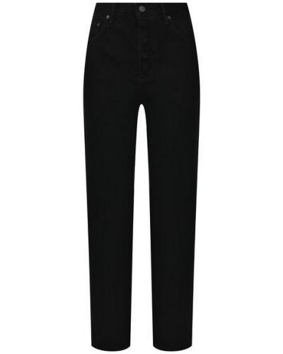 Хлопковые джинсы - черные Grlfrnd