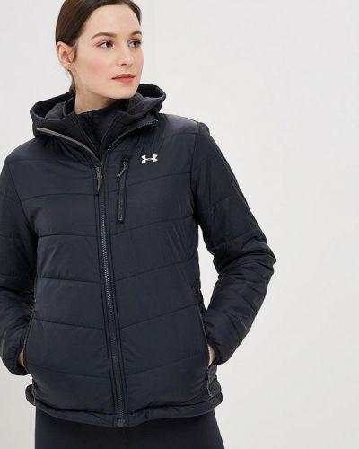 Утепленная куртка весенняя черная Under Armour