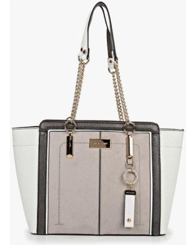 Кожаный сумка поясная серый River Island