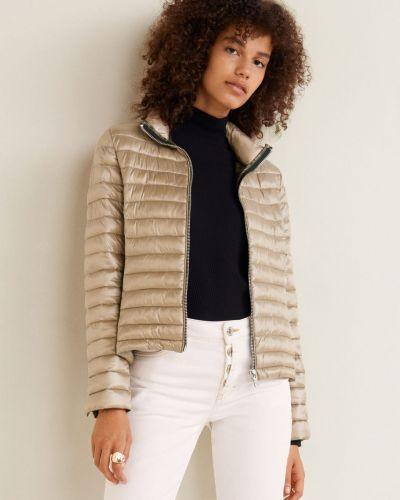 Утепленная куртка с карманами с подкладкой Mango