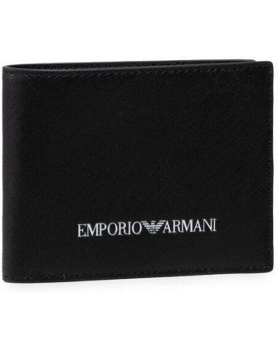 Portfel - czarny Emporio Armani