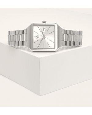 Часы водонепроницаемые квадратные Calvin Klein