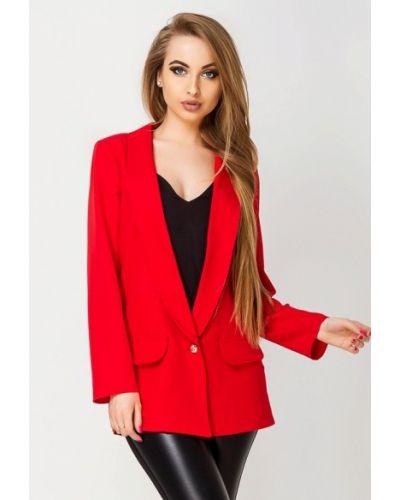 Красный пиджак Leo Pride