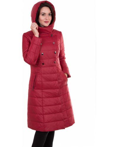 Пальто с капюшоном на кнопках на молнии J-splash