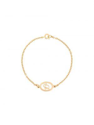 Браслет винтажный - желтый Christian Dior Pre-owned