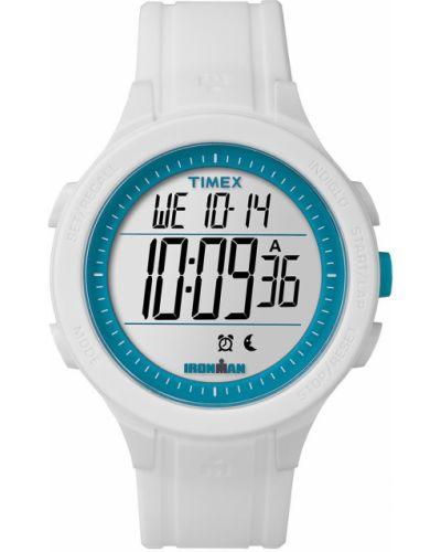 Кварцевые часы водонепроницаемые с круглым циферблатом Timex