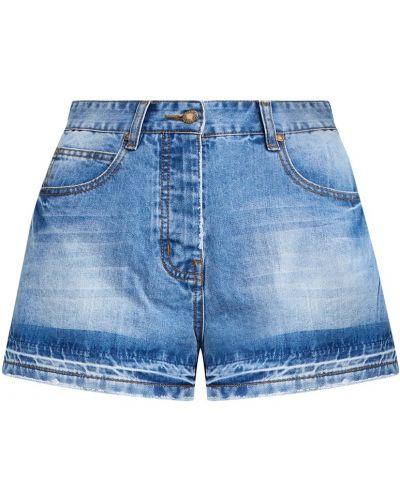 Джинсовые шорты короткие синий Paul & Joe Sister