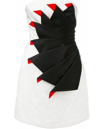 Коктейльное платье шелковое Capucci