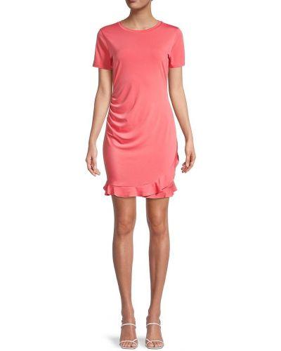 Красное платье мини с короткими рукавами Bcbgeneration