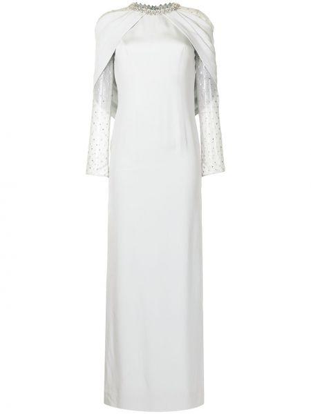Sukienka srebrna Jenny Packham