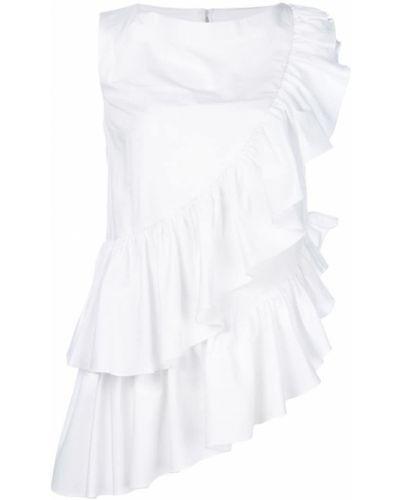 Блузка с рюшами белая Milla Milla