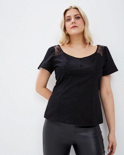 Блузка черная Lost Ink Plus