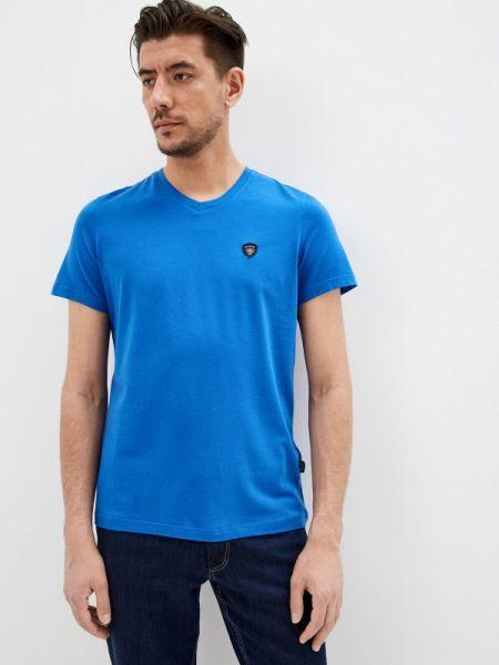 Синяя футболка Galvanni