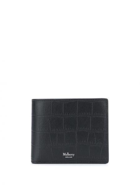 Skórzany portfel z kieszeniami Mulberry