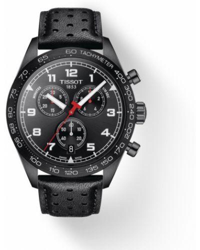 Czarny zegarek sportowy Tissot