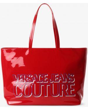 Mom jeans - czerwone Versace Jeans