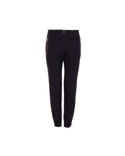 Черные брюки из полиэстера Irfé