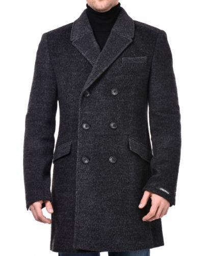 Серое пальто Lagerfeld
