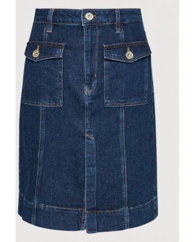 Spódnica jeansowa - granatowa Joop! Jeans