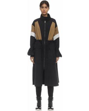 Płaszcz z kołnierzem z kieszeniami Moncler