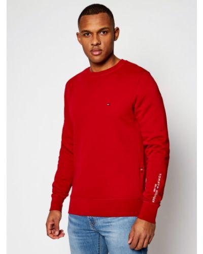 Czerwony bluzka Tommy Hilfiger