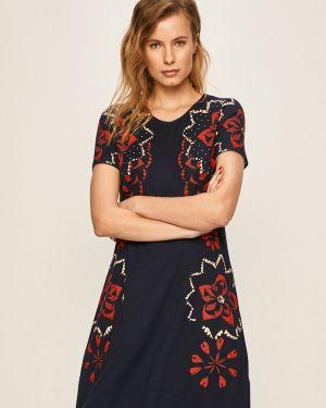 Sukienka mini codzienna z obrazem Desigual