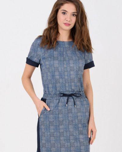 Платье - синее Ricamare