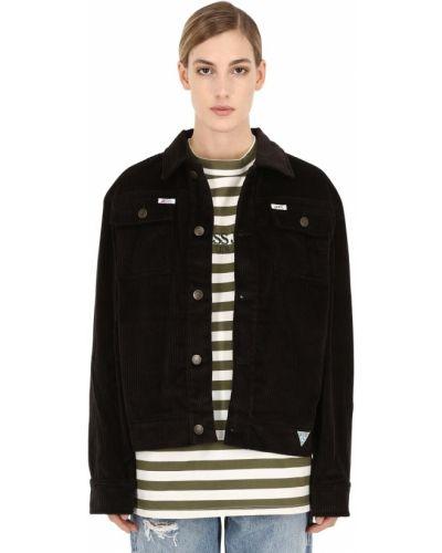 Куртка вельветовая - черная Guess Jeans U.s.a.x Infinite Archives