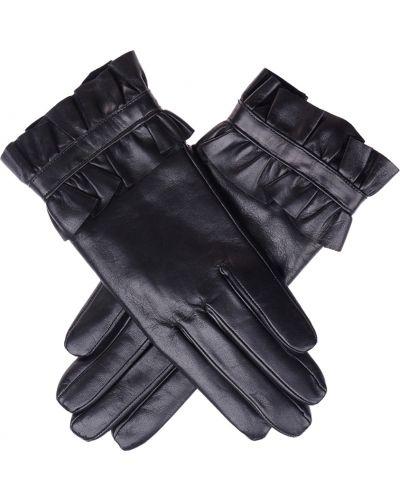 Кожаные перчатки черные Parola