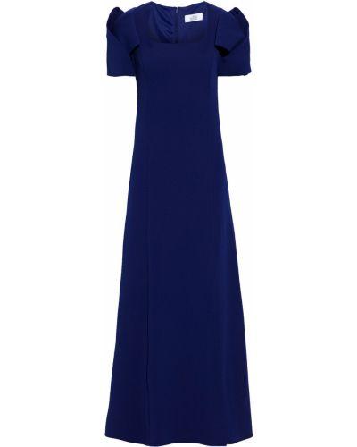 Niebieska sukienka na obcasie Badgley Mischka