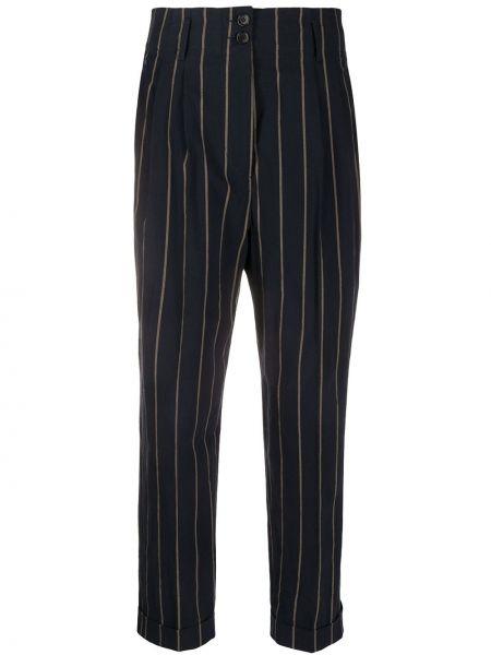 Spodnie z wysokim stanem z kieszeniami elastyczne Aspesi