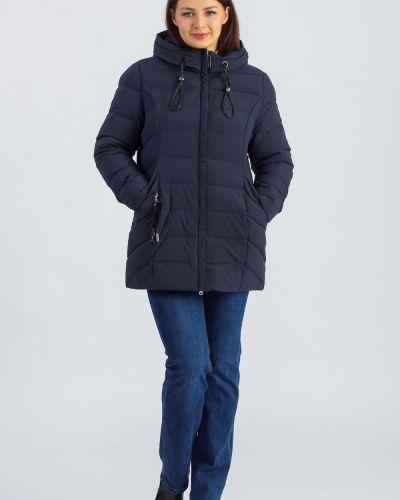 Кожаная куртка с капюшоном однотонная Lacywear